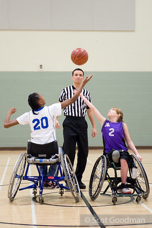 West Coast Junior Wheelchair Basketball Championships 2010