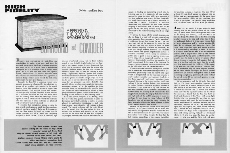 High Fidelity 901 pg 1,2