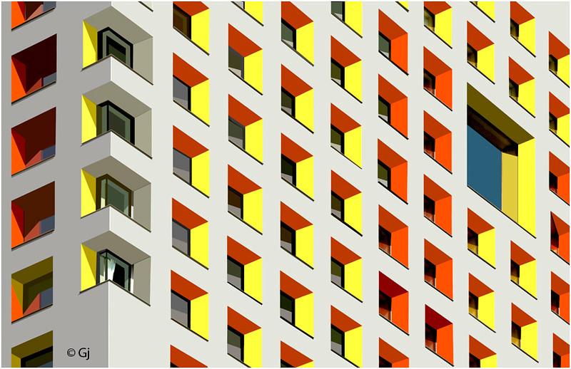 "Print title:  ""  WINDOW MOSAIC  ""  /  BOS_MG_6090  / © Gj"