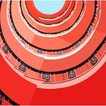 "Print title:  '  The Nautilus Staircase "" / Bos_MG_425 / © Gj"