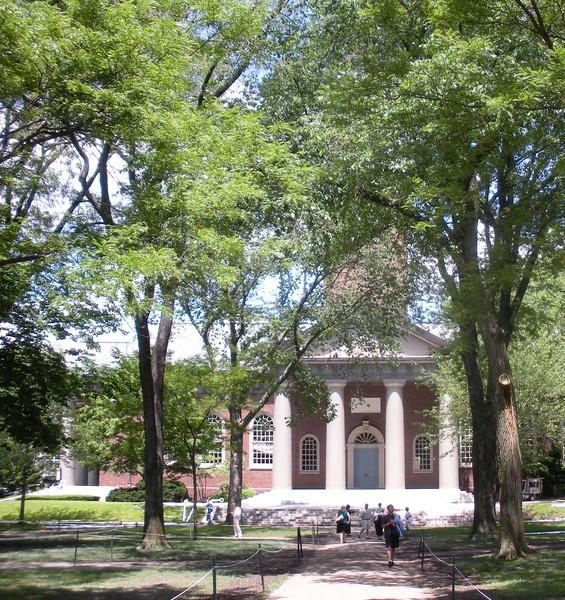 Grounds around Harvard University, Cambridge, MA