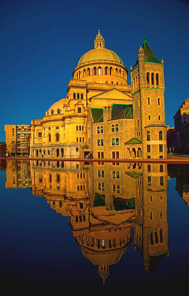 Christian Science Church Boston