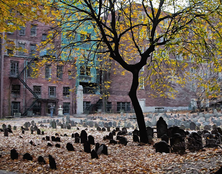 Granary Burying Ground , Boston, Mass