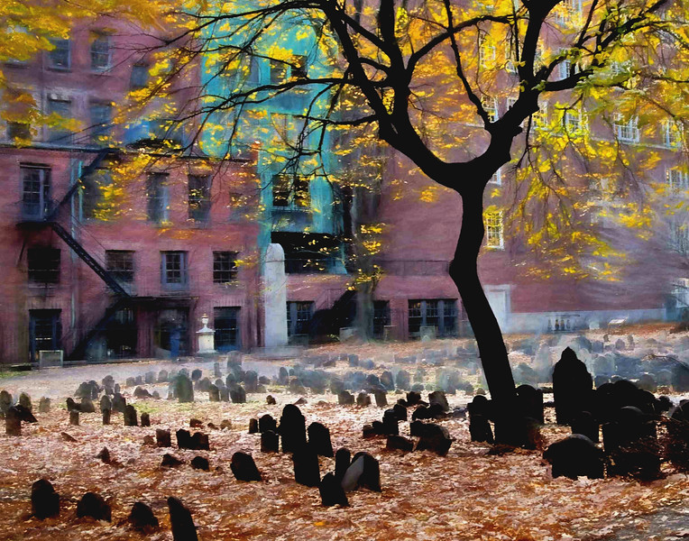 Granary Burying Ground , Boston, Mass #2
