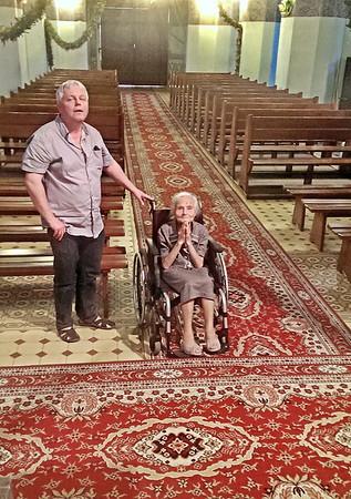86 LAT PO CHRZCIE W TYM KOŚCIELE