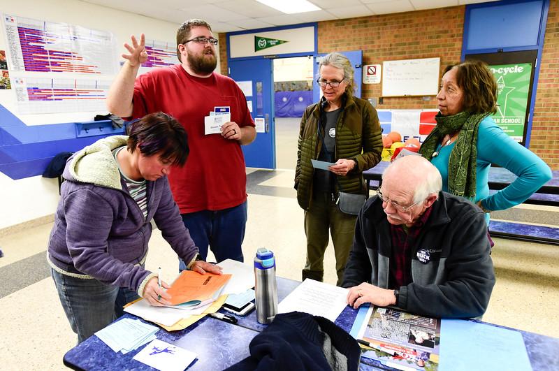 GOP Dems Caucus Longmont