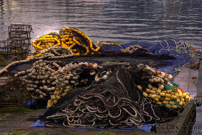 Petersburg, Alaska, Fishing Nets