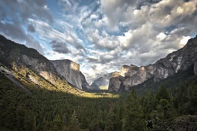 Yosemite National Park, California, Tunnel View