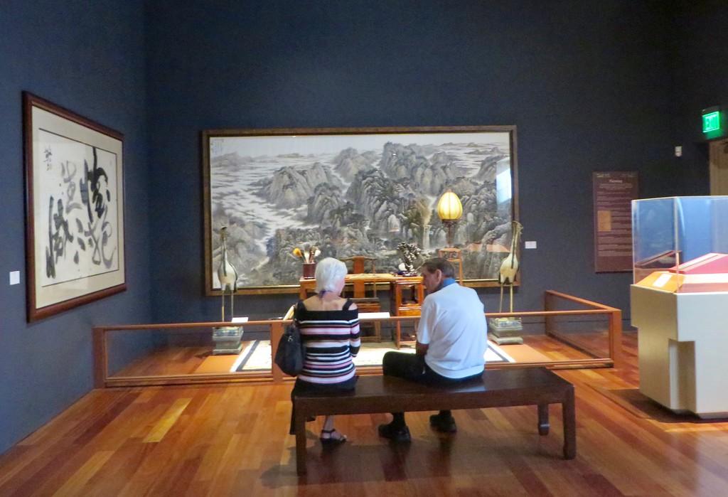 Bowers Museium, February 15, 2017
