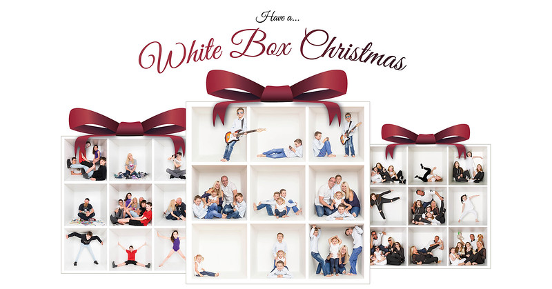 White box Christmas ad