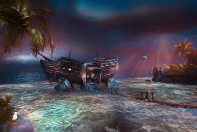 Shelter From The Briny Storm 4383-FA-1017