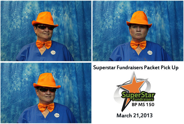 2013 Superstar Fundraisers Packet Pick up