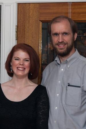 Tom Brown and Lori Black