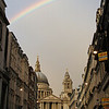 Rainbow Over St Pauls