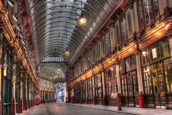 Leadenhall Market Colour