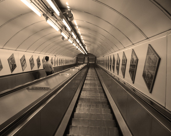 Mind The Gap Sepia