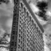 Flatiron Black and white