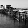 Hastings Pier B&W