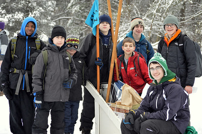 Baden Powell District Klondike Derby 2015
