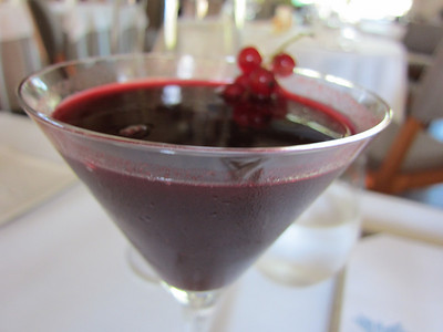 Black Currant martini