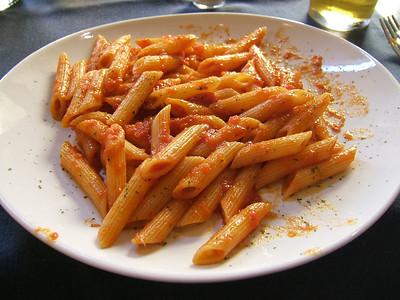 Spicy Pasta Puttanesca (Rome, Italy)