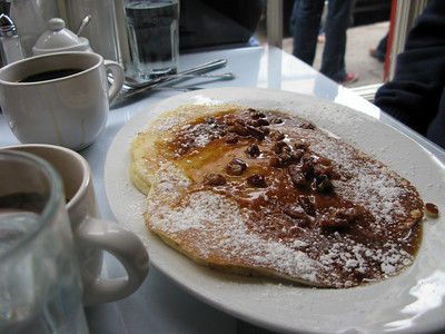 Pecan Pancakes at Brenda's French Soul Food (San Francisco, CA)