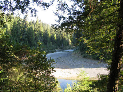 South fork of the Eel River in Redwoods National Park