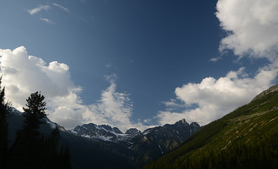 Rogers pass outside of Golden B.C.