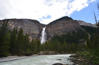 Takakkaw Falls  ~1200 feet, tallest falls in the park