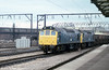 25139 and 25105 at Crewe on 23rd July 1979.