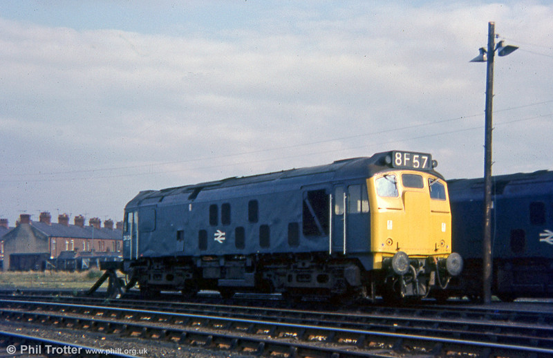 24134 stabled at Croes Newydd, Wrexham, on 11th October 1975.