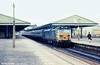 50020 'Revenge' calls at Newton Abbot on 24th August 1979.