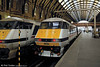 East Coast class 82 DVTs pictured at Kings Cross.