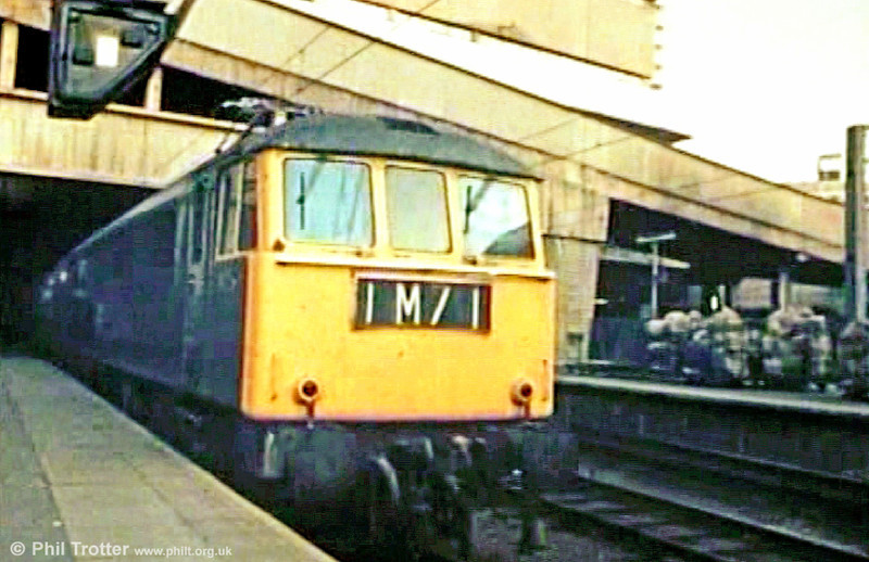 A still taken from a B&I Line promotional film made in around 1971, to promote rail links with its ferry service from Liverpool. E3126 (later 86231 'Lady of the Lake') leaves Birmingham New Street.
