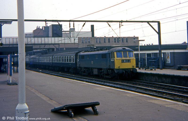 86226 at Wolverhampton on 23rd April 1975.