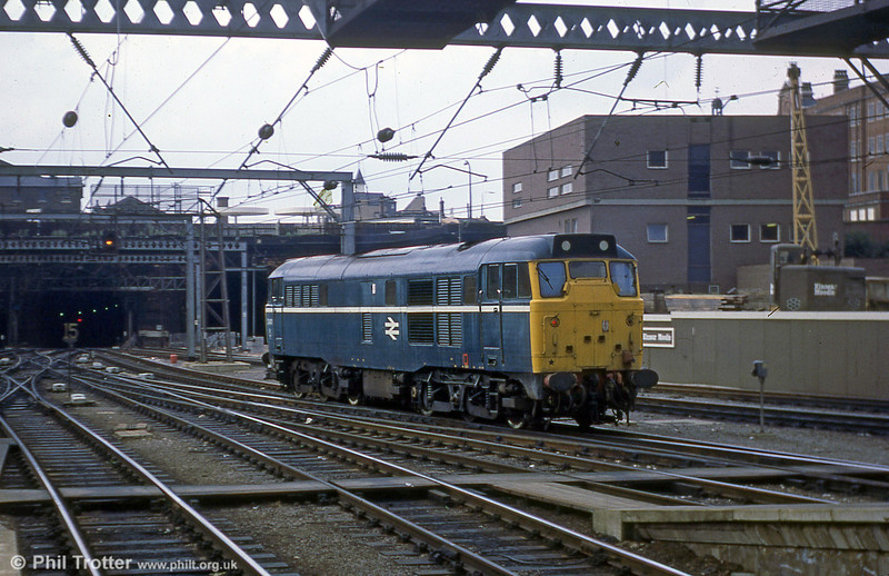 31411 again, this time at Kings Cross on 18th July 1979.