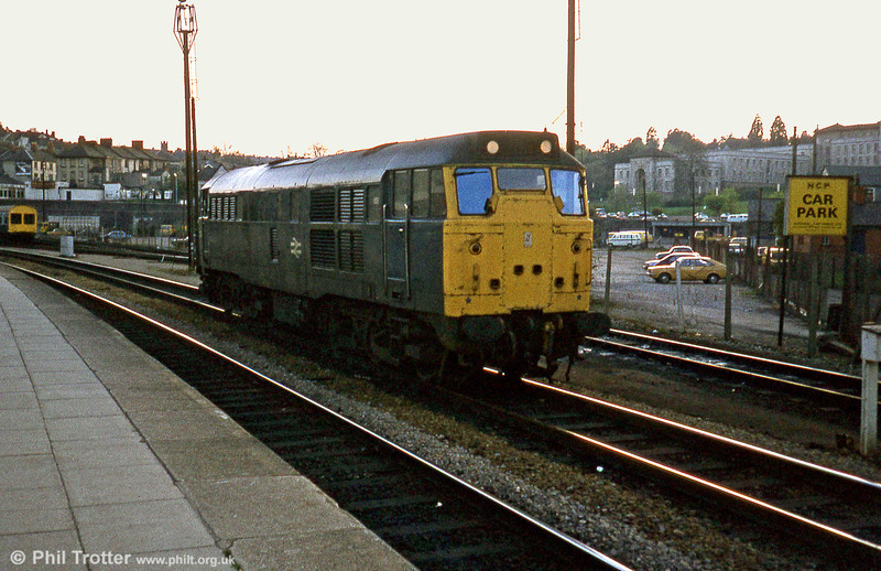 31293 at Newport on 18th April 1981.