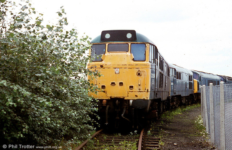 31264 after withdrawal at Swindon Works.