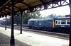 31230 waits at Worcester Shrub Hill, c. 1980.