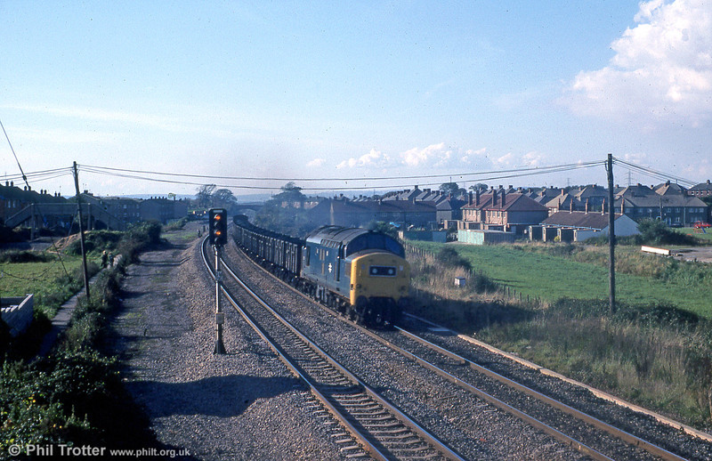 37178 passes Pyle on 5th October 1979.