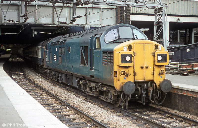 37017 waits to depart from London Liverpool Street on 5th August 1980.