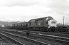37255 passes Ebbw Junction on 8th March 1975. This loco is currently at the Great Central Railway, Loughborough.