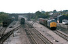 37205 heads through Magor with a train for Severn Tunnel Junction on 18th September 1984. 37254 is seen heading the other way.