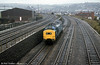 A class 37 heads for Landore TMD, Swansea.