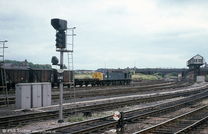 40082 heads away from Chester on 19th July 1979.