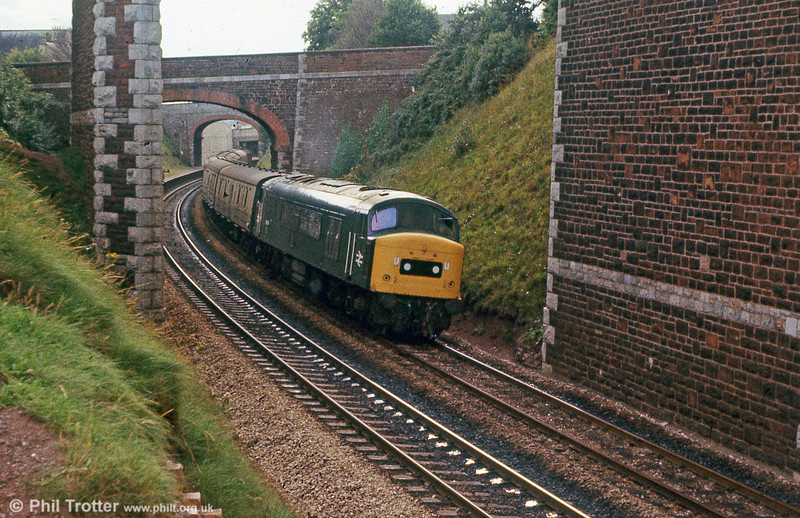 45019 at Teignmouth on 24th August 1979.