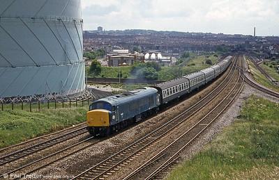 Narroways Hill Junction, Filton Bank, Bristol on 7th June 1980.