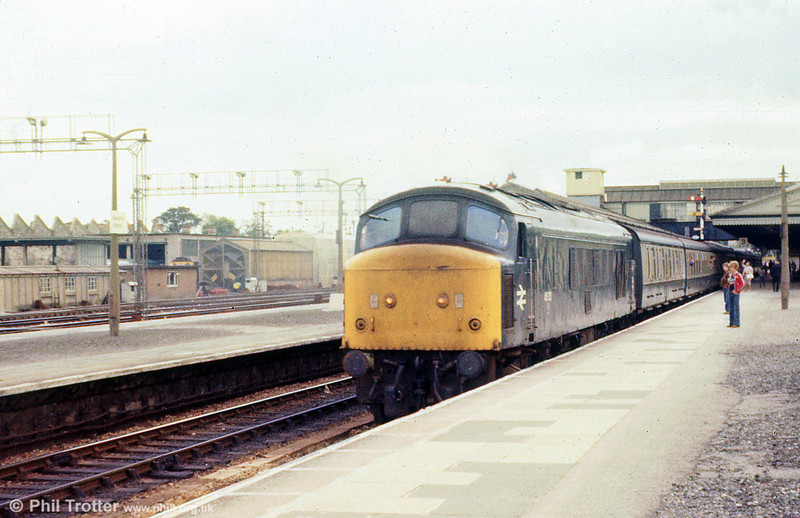 46030 at Newton Abbot on 24th August 1979.