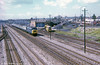 Passing Roath, Cardiff, in 1974. Note the large coal yard, right.