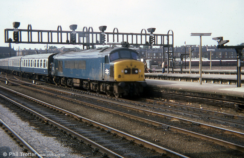 A cross country service at York in 1978.